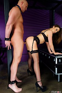 Mistress Chanel Preston has an insatiable need to use men as her sex slaves.